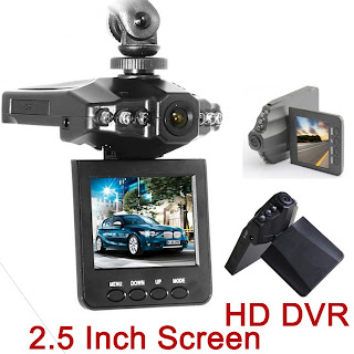 2.5 Inch HD Car LED DVR Road Dash Video Camera Recorder Camcorder LCD 270 Degree