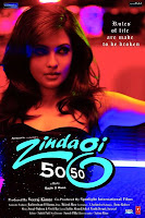 zindagi 50-50 - 2013 Hindi mobile movie poster hindimobilemovie.blogspot.com