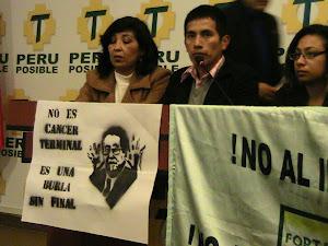 No al Indulto de Fujimori