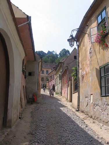 street Romania