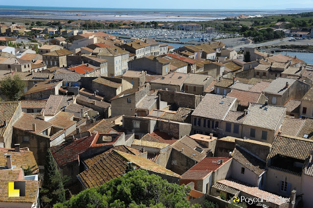 le village de gruissan et les salins photo pascal blachier