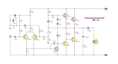 OTL 100W Power Amplifier [2N3055]