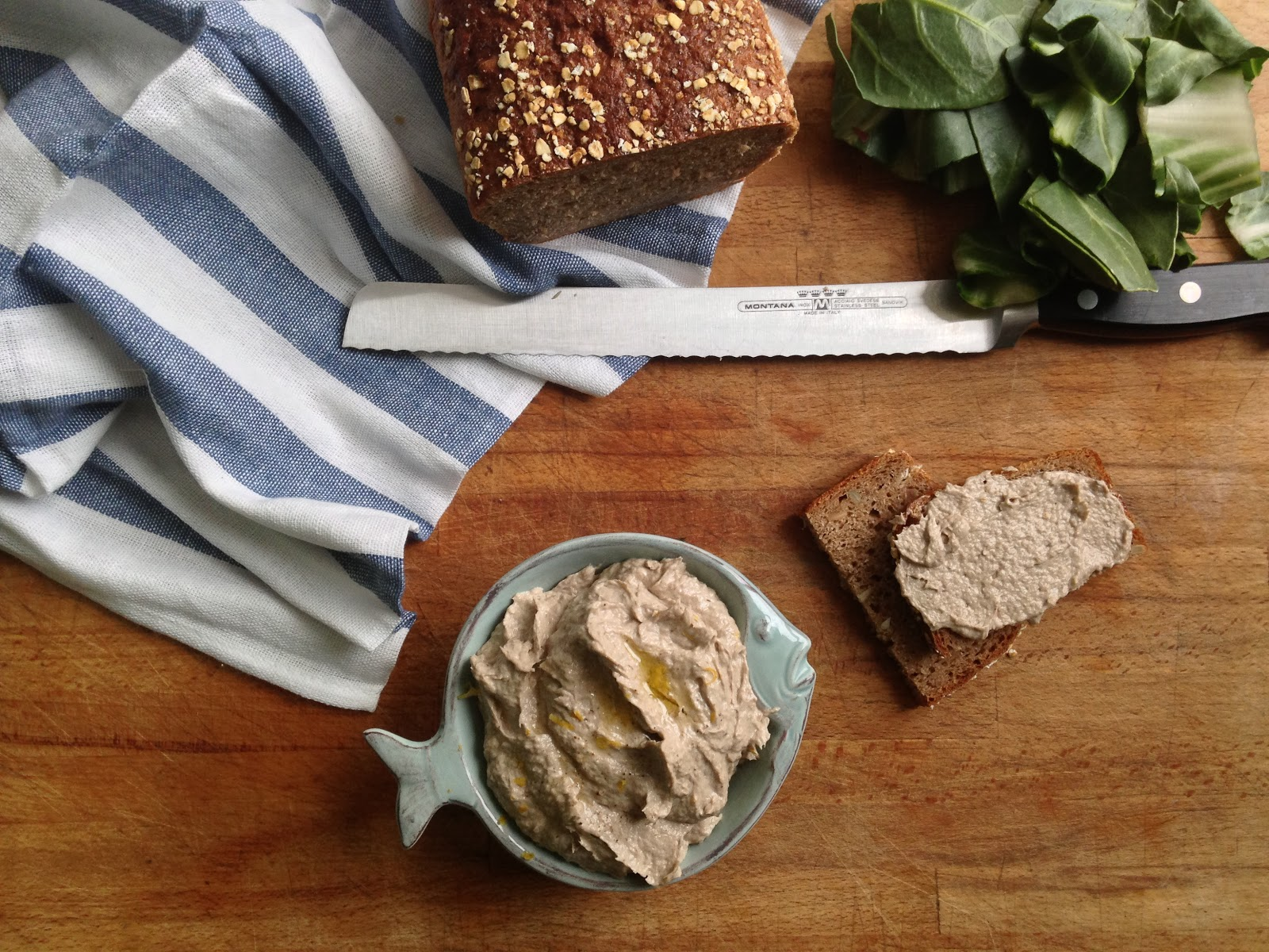 Nuts about food: Lemony sardine pâté