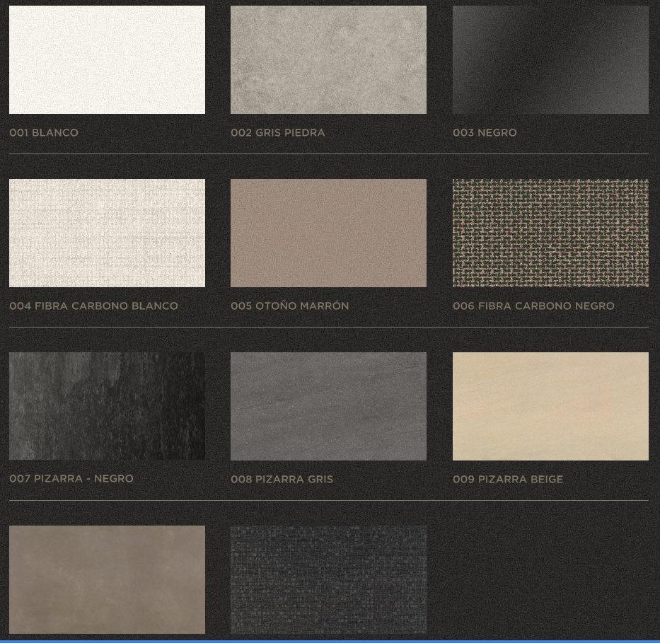2blog encimeras porcel nicas for Colores de granito para encimeras