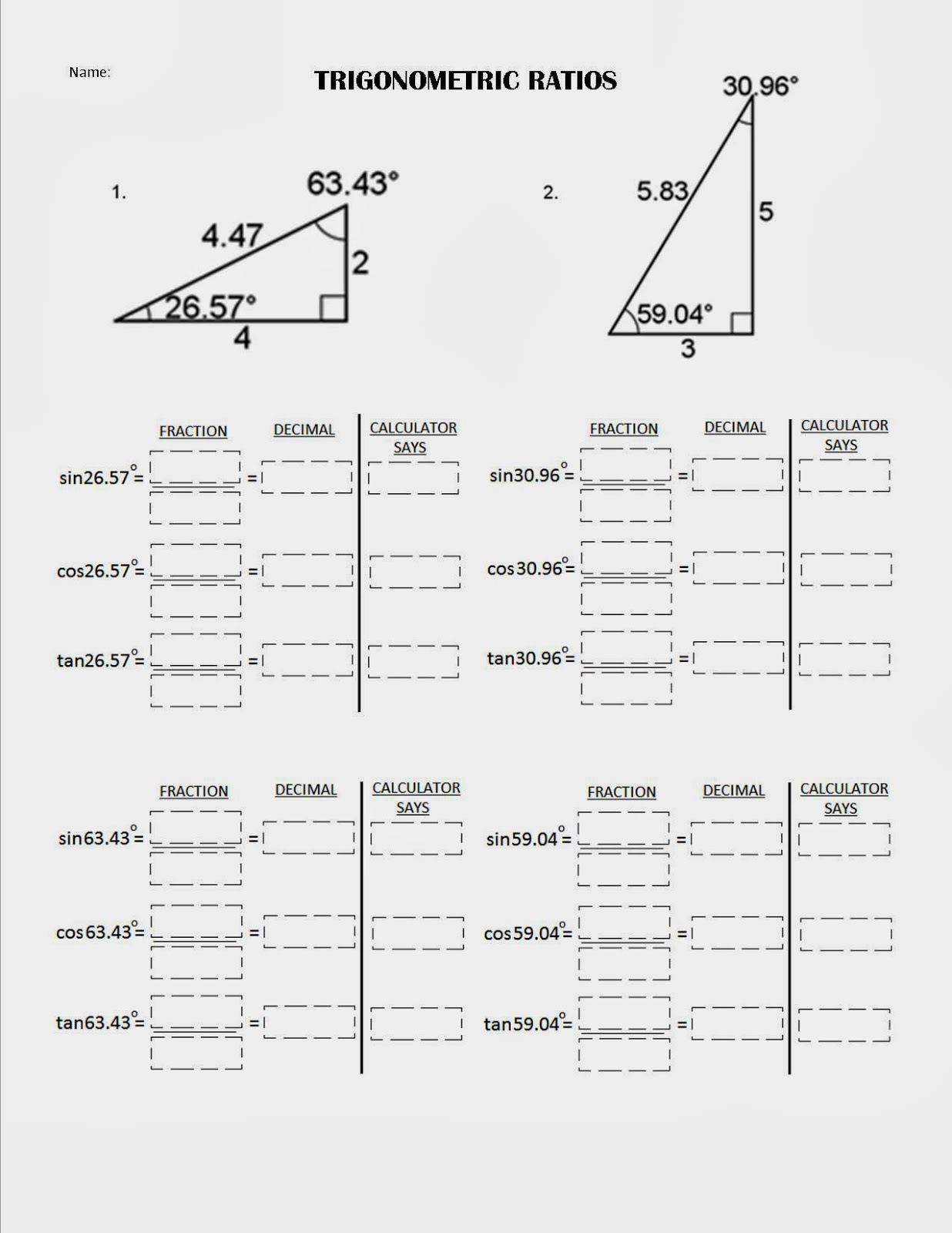 trig sheet essay Read this essay on trig come browse our large digital warehouse of free sample essays trig cheat sheet definition of the trig functions.