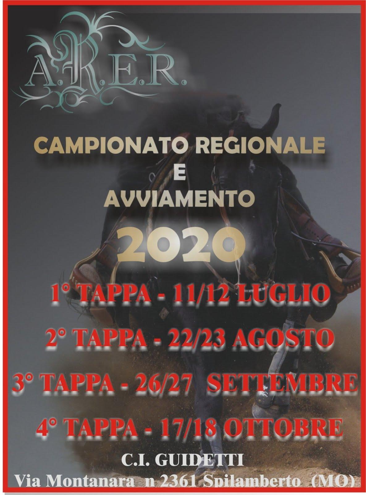 ARER 2020 , LA MIA REGIONE RIPARTE!!!