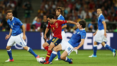 Hasil Final : Spanyol vs Italia