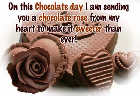 Chocolate Day Special Quotes