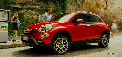 Fiat 500X Blue Pill Commercial