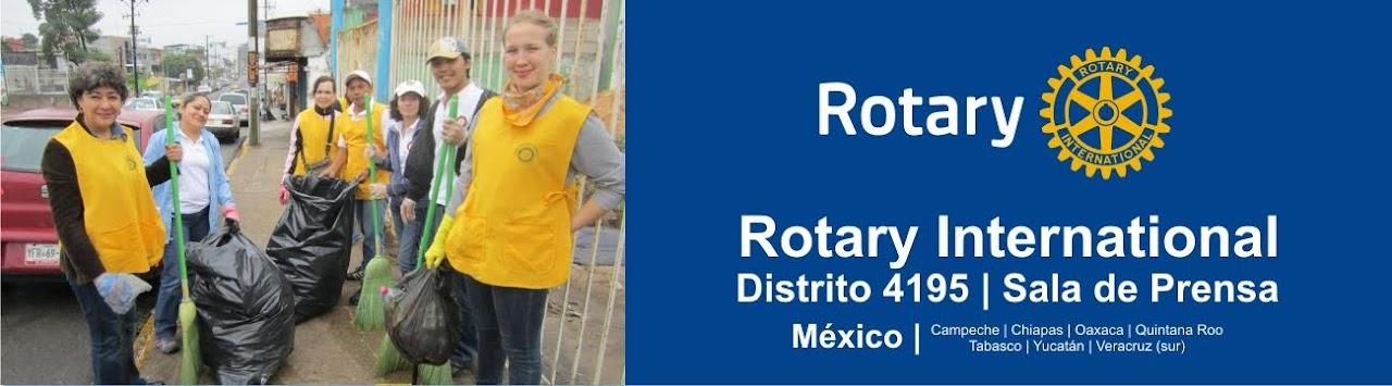 ROTARY INTERNATIONAL.| DISTRITO 4195 (antes 4200) | MÉXICO.