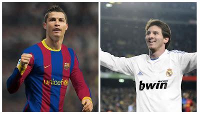 Cristiano y Messi intercambiaran de clubes en 2014