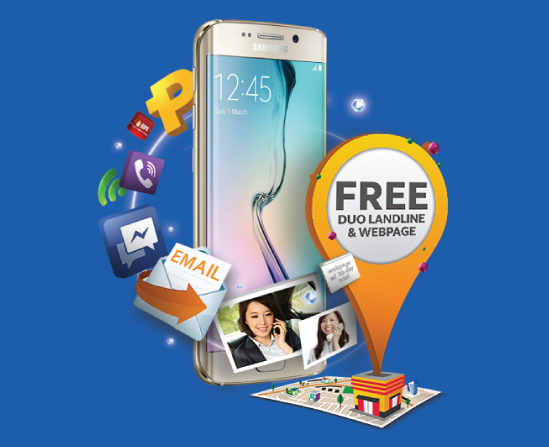 Globe myBusiness - Samsung Galaxy S6 edge