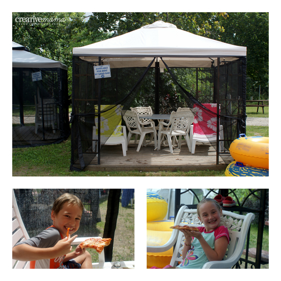 Cabana Rentals at Wild Water Kingdom - include meal service