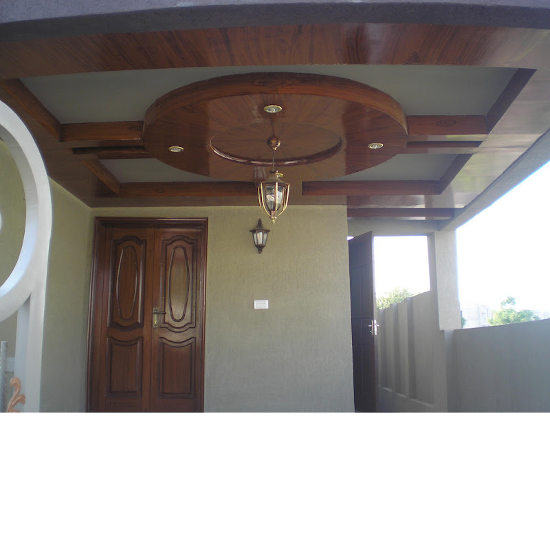 Make your tropical house more tropical with wooden ceiling title=