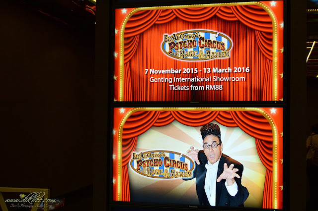 Ed Alonzo's Psycho Circus of Magic & Mayhem Di Genting Highlands