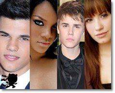 listas com celebridades