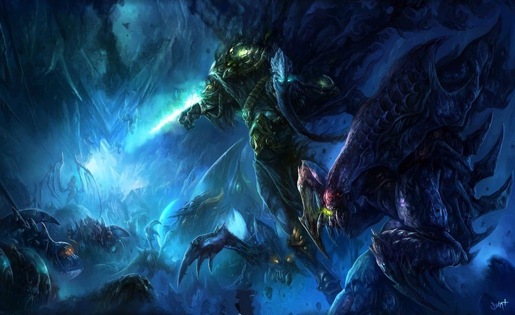 Starcraft HD & Widescreen Wallpaper 0.513400681126376