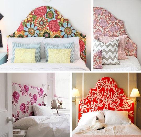 A deco elementos de dise o cabeceras de cama - Cabezales de tela ...