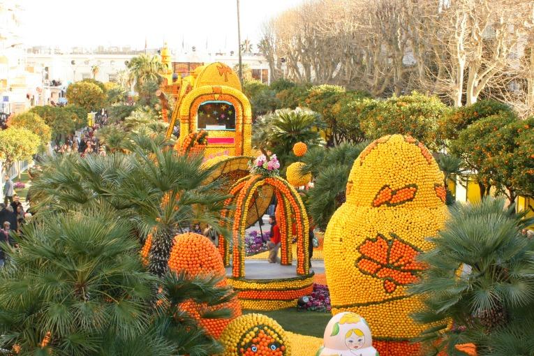 Święto Cytryny w Menton, co zobaczyć na lazurowym wybrzeżu