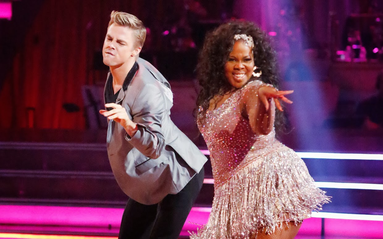 amber riley, dancing with the stars