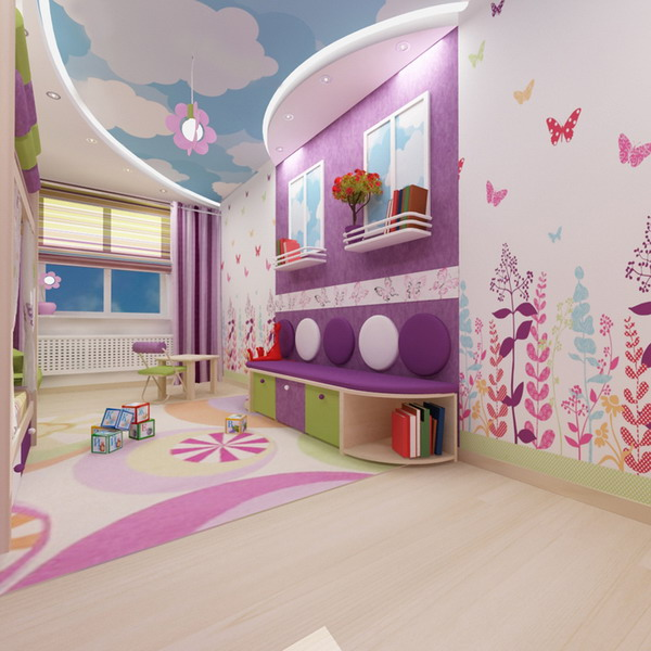 Bright Interiors Children 39 S Rooms And Cool Designs For