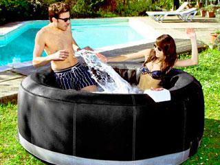 Jardin ext rieur - Spa gonflable de luxe ...