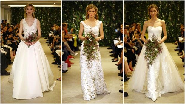 فساتين زفاف أنيقة من كارولينا هيريرا  لربيع 2016 , فساتين زفاف كارولينا هيريرا 2016