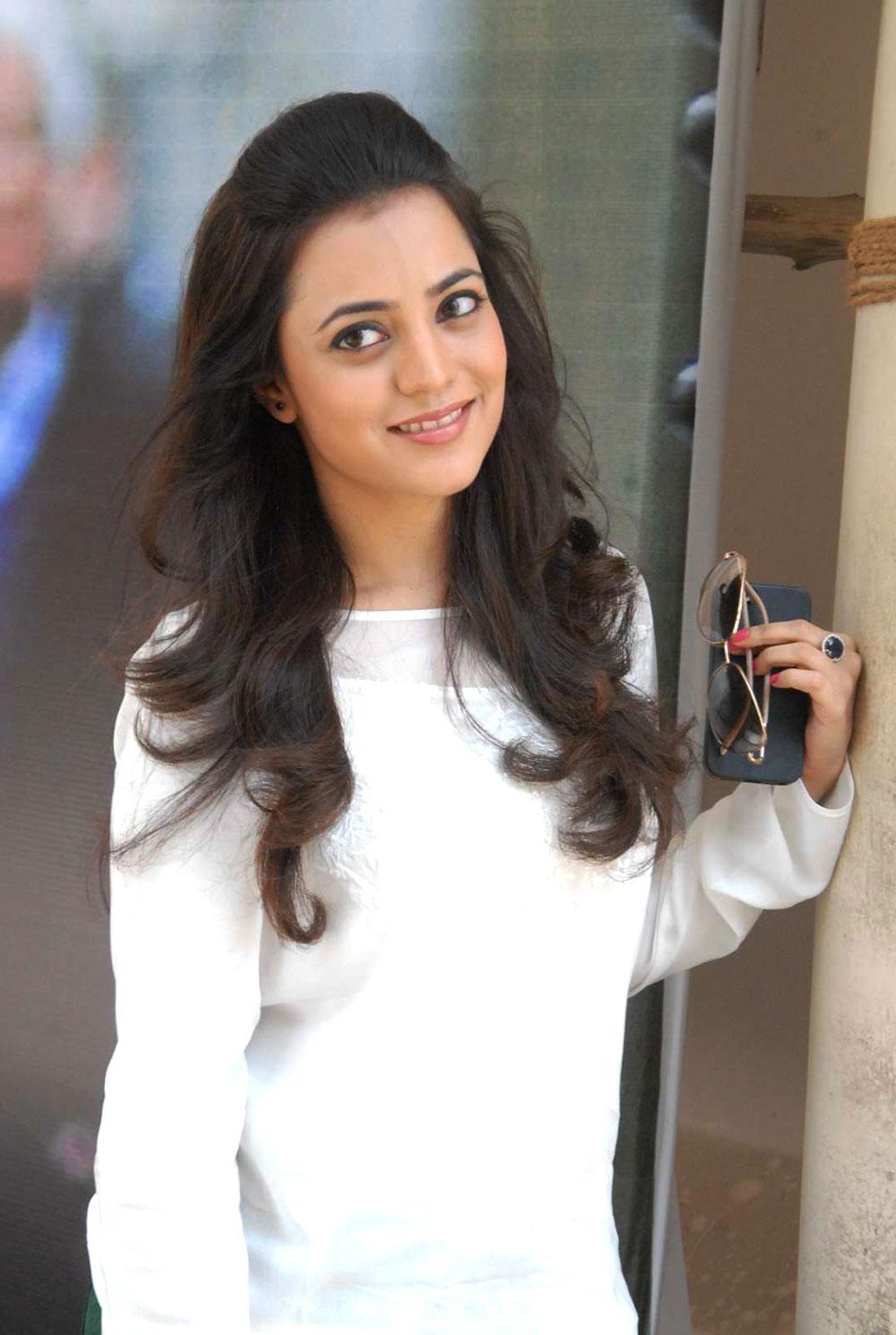 glamorous Nisha agarwal latest photos at naturals mvp colony branch inauguration
