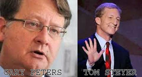tom steyer, gary peters