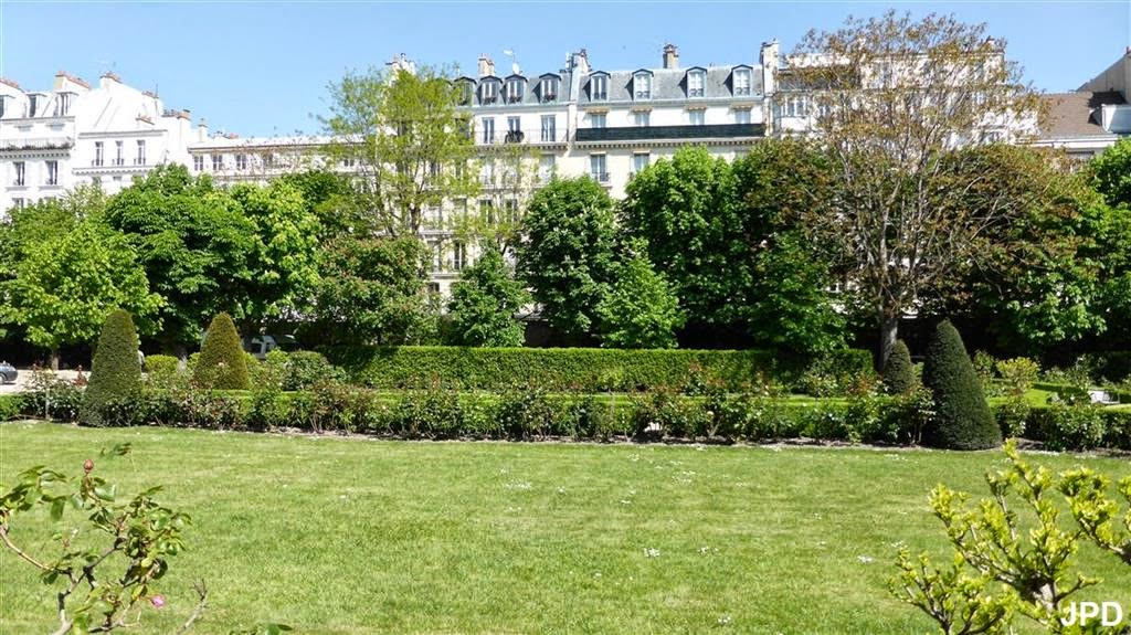 Paris bise art clinique oudinot et ordre hospitalier de for Au fond du jardin saint saens