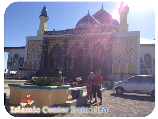 jalan jalan ke Islamic Center Dato Tiro Bulukumba