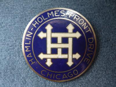 Hamlin Holmes Radiator Emblem