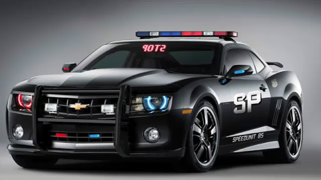 2010 Chevy Camaro used by Police New Muscle Car Picture