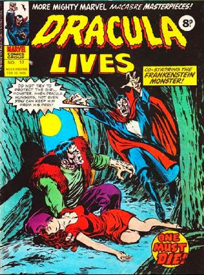 Marvel UK, Dracula Lives #17, Frankenstein