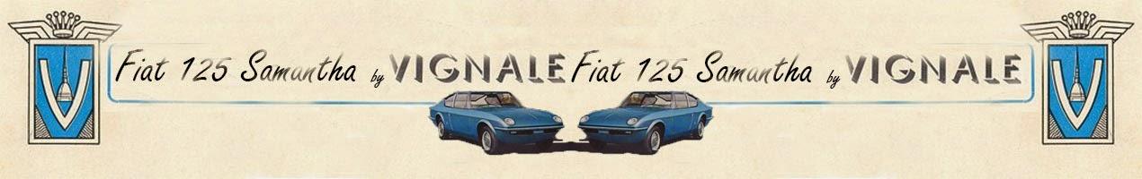 Fiat 125 coupé Samantha Vignale