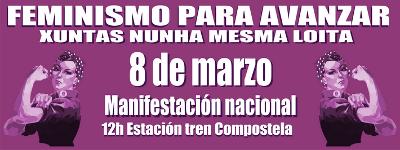 manifestación do 8 de marzo en Compostela