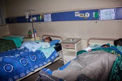 Accidente en vía Potosí Tarija dejó 14 heridos