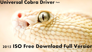 Download Universal Cobra Driver Pack 2015 ISO Free Full Version