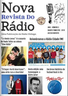 NOVA REVISTA DO RÁDIO - NOVEMBRO - DEZEMBRO - JANEIRO -  2019/2020- Nº 3