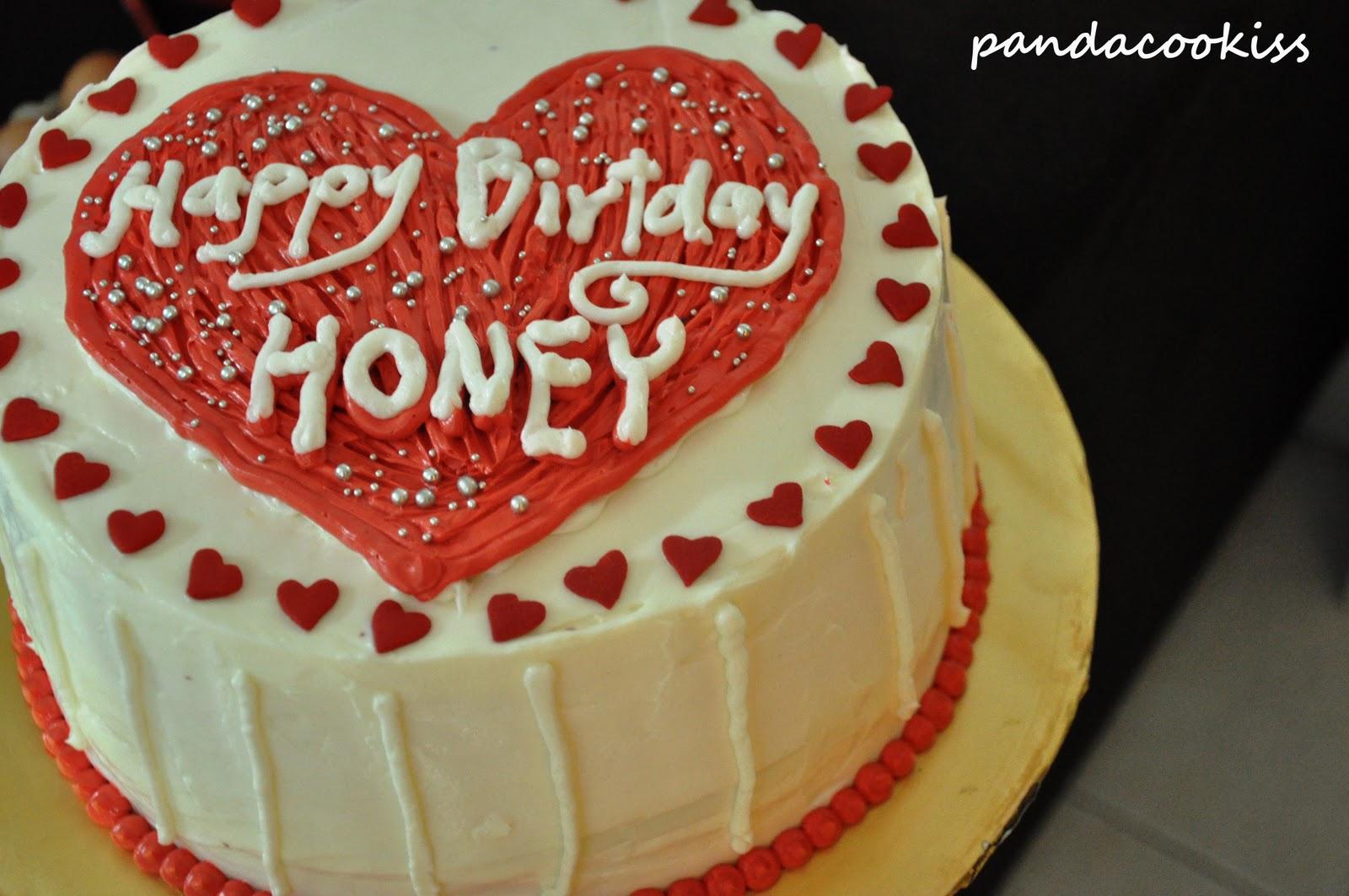 pandacookiss Ninos Rainbow Birthday cake