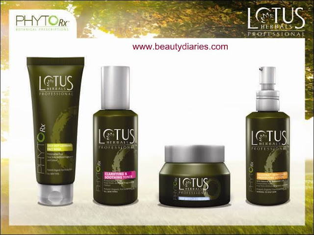 Lotus Herbals Professional - PHYTO-Rx Day time products