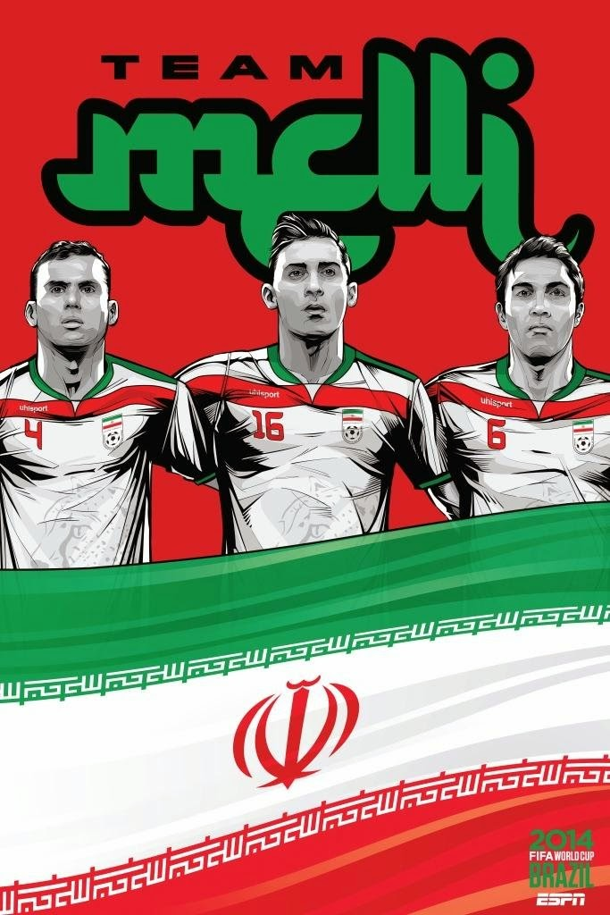 Iran Team FIFA 2014