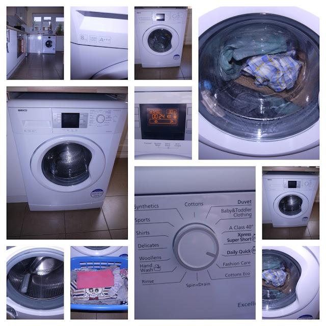 laundry, washing machine