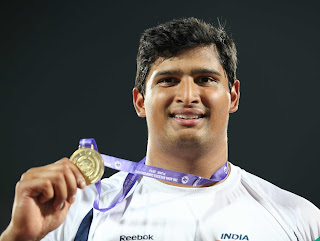 Vijay Gowda gold medalist in Pune Asian athlete Championship