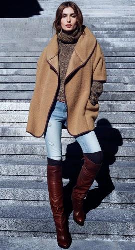 Moda de invierno H&M capa