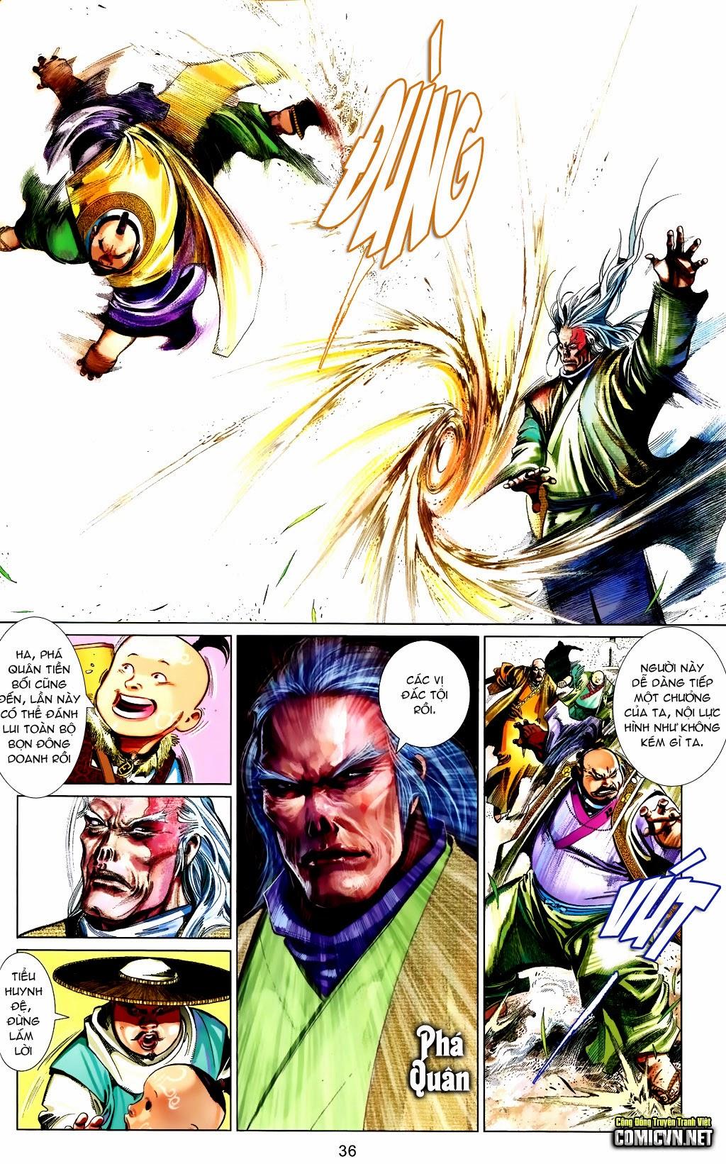 Phong Vân Chap 663 - Trang 36