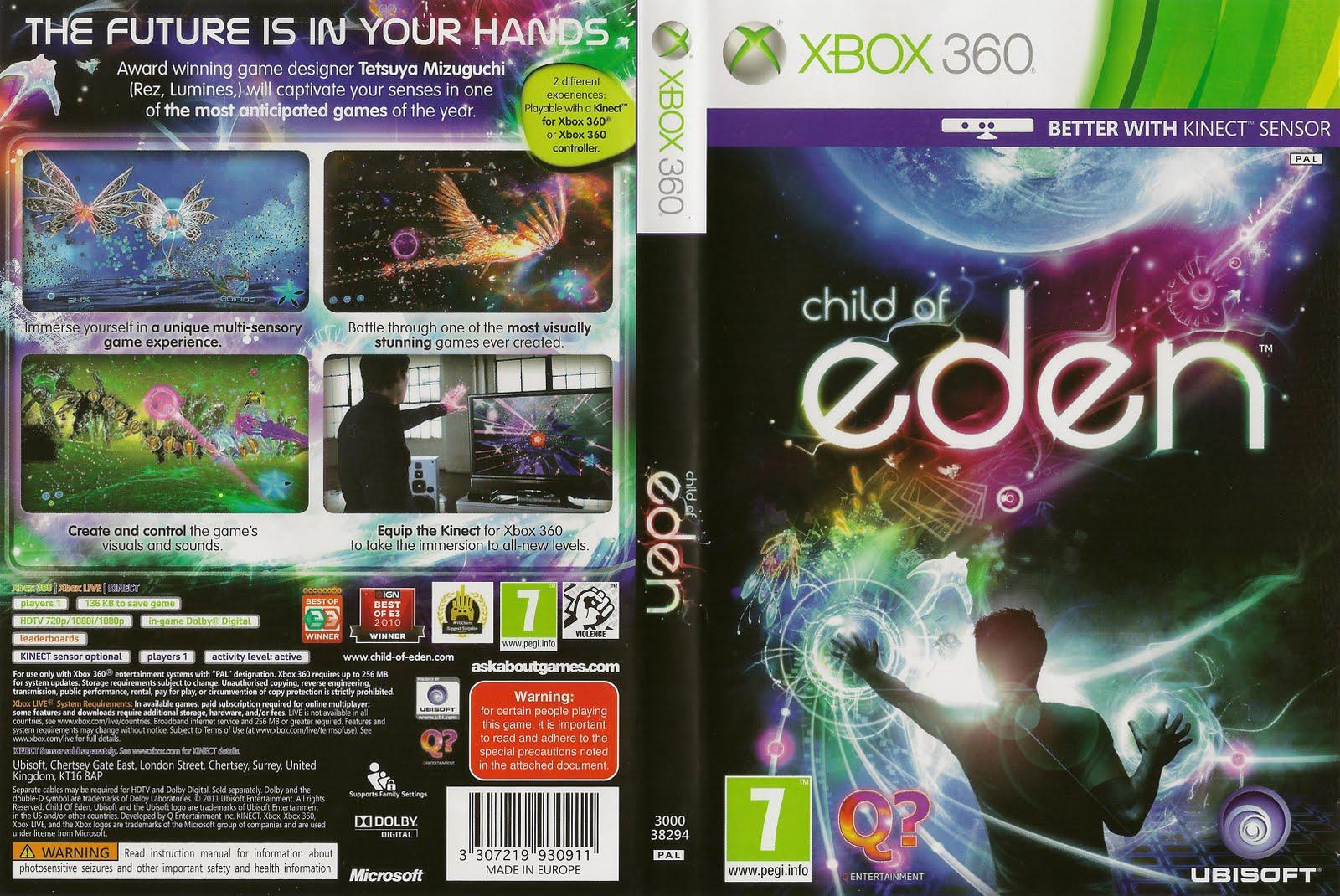 Resultado de imagem para Child of Eden game