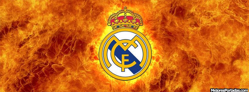 PORTADAS FACEBOOK TIMELINE BIOGRAF&205A Real Madrid Fuego