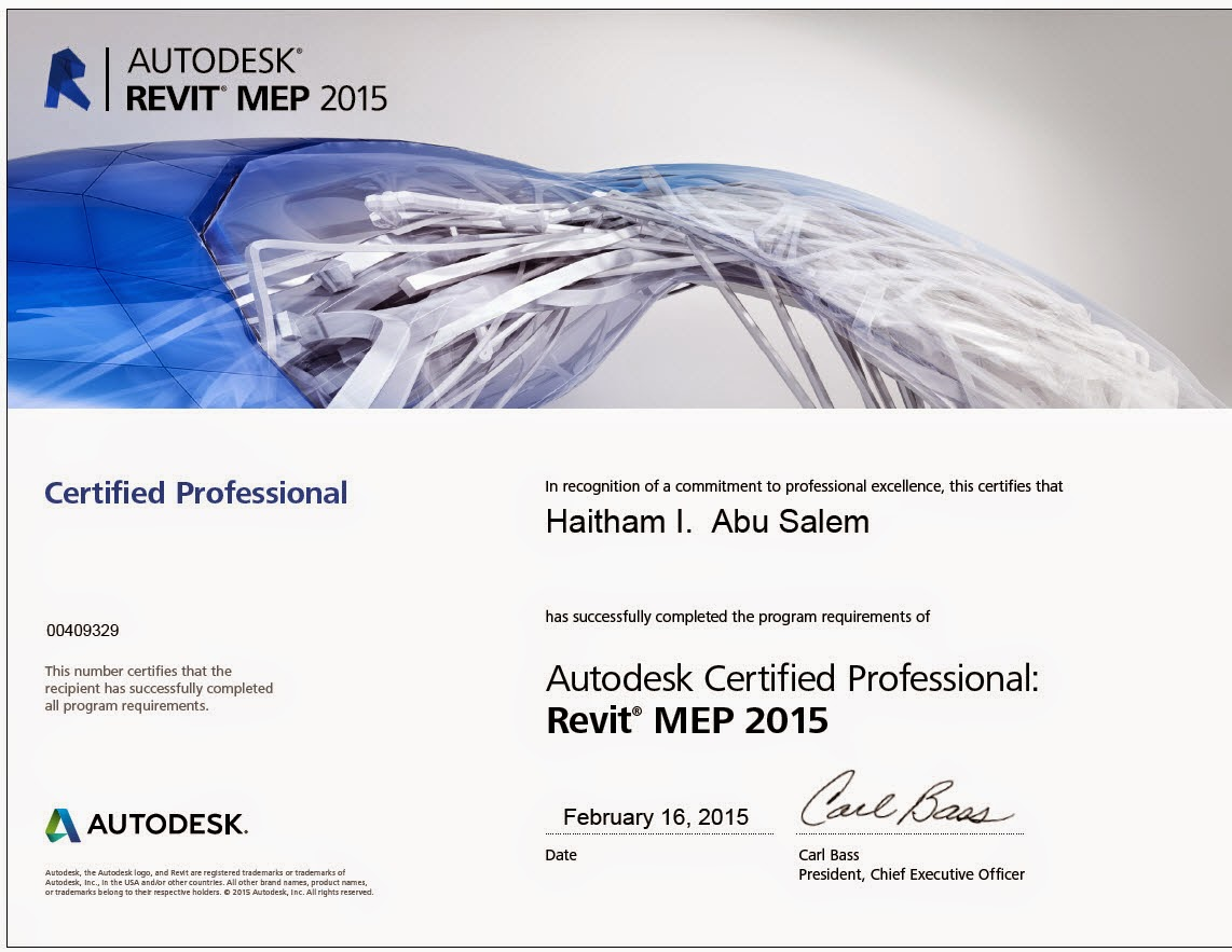 Bim technology my certification on architectural and mep 1betcityfo Choice Image