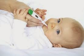 bayi lagi demam